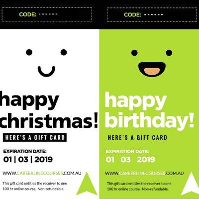 Online Courses Gift Voucher